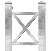 Core Drill X Frame Bollard