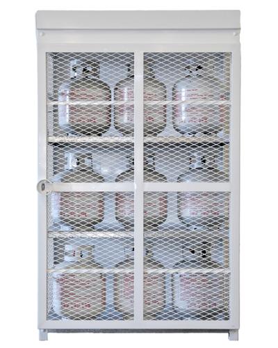 Propane Storage Cage Best Design 2017