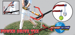 Pro Power Drive Swing Trainer Tee Baseball Softball Hitting Tee