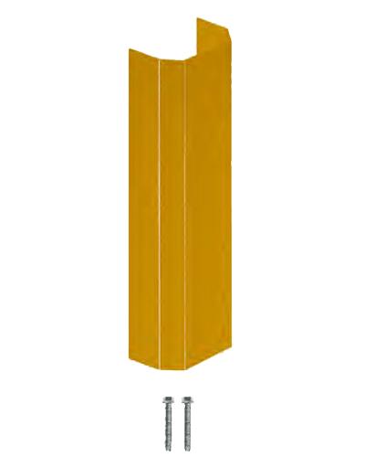 "Angled Wall Guard 18"" Yellow"