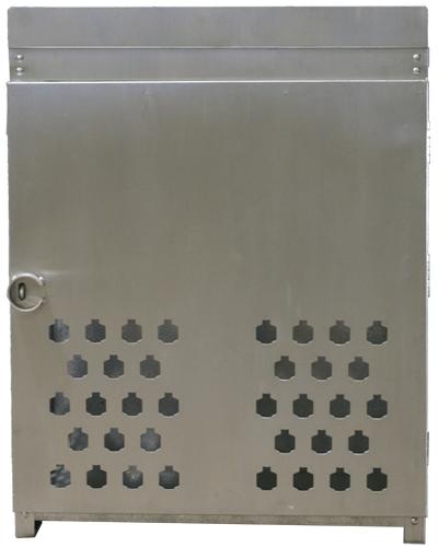 Aluminum Gas Cage