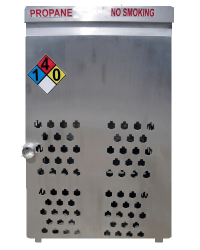 Aluminum Gas Cage 18 Count
