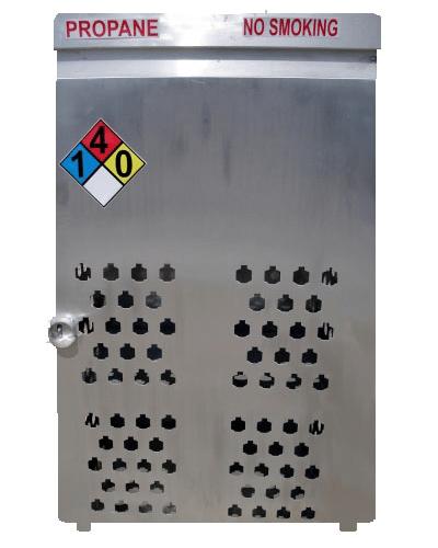 Aluminum Gas Cage 18 Count