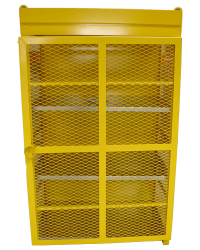 Yellow Gas Cage
