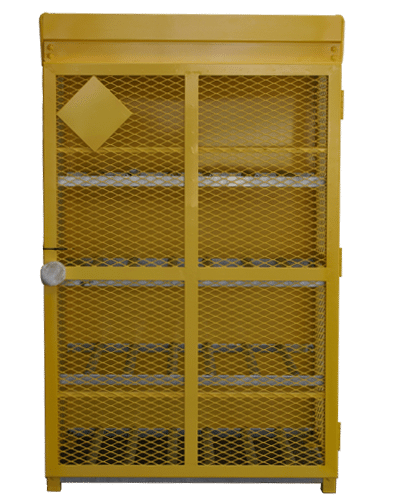 Powder Coat Yellow Gas Cage