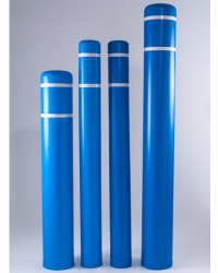 Blue Bollard Cover