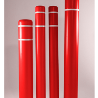 Bollard Covers Red
