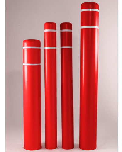 Bollard Covers Red