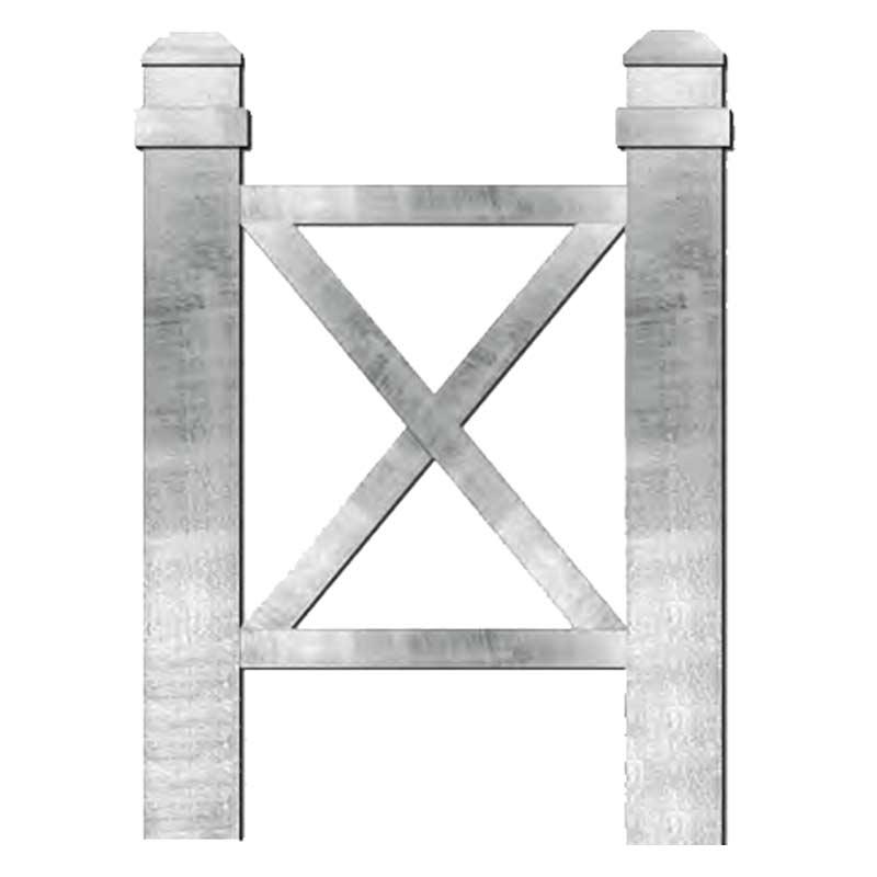 X Frame Bollards